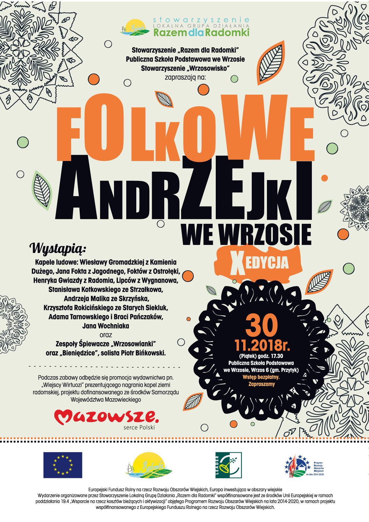 Folkowe Andrzejki We Wrzosie Zaproszenie Gmina Przytyk